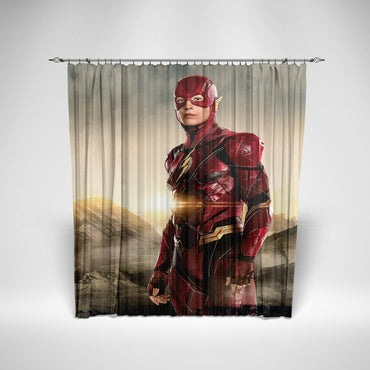JUSTICE LEAGUE - SHOWER CURTAIN