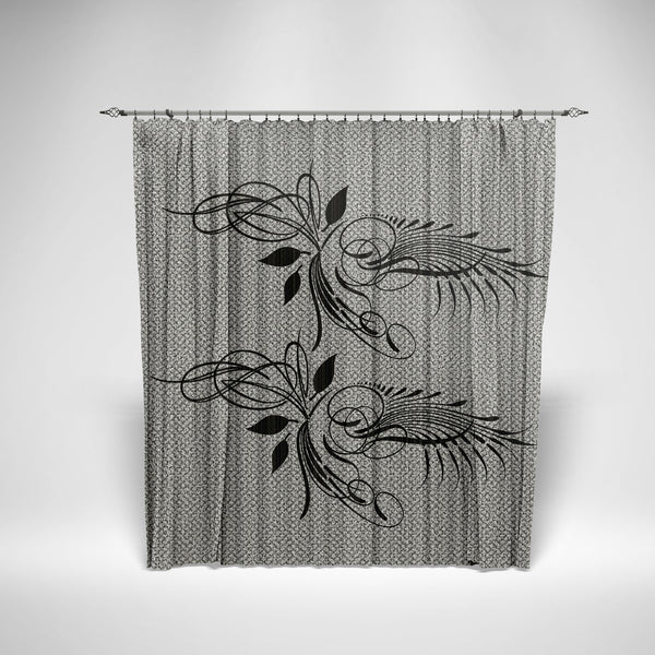 Flower Retro Curtain