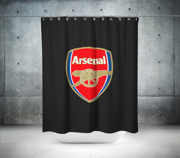 Arsenal Football Club Shower Curtain