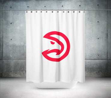 Atlanta Hawks NBA Shower Curtain