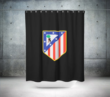 Atletico Madrid Football Club Shower Curtain