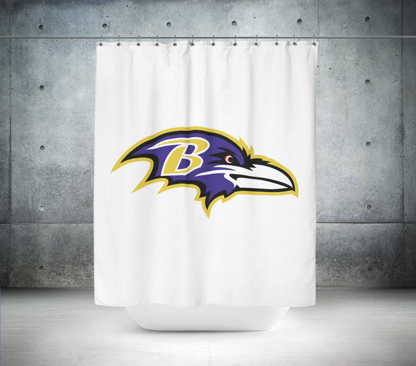 Baltimore Ravens NFL Shower Curtain