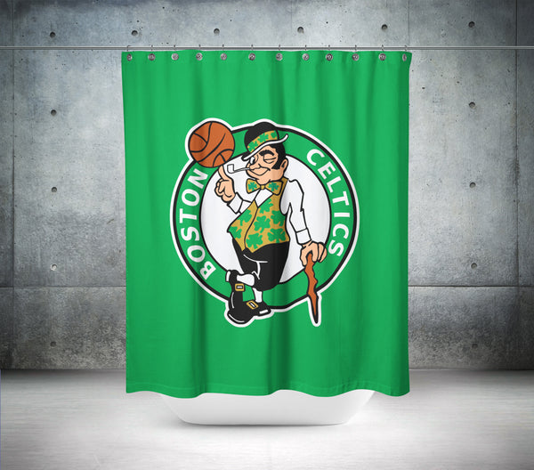 Boston Celtics NBA Shower Curtain