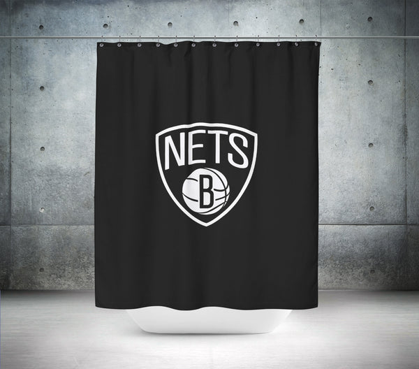 Brooklyn Jets NBA Shower Curtain