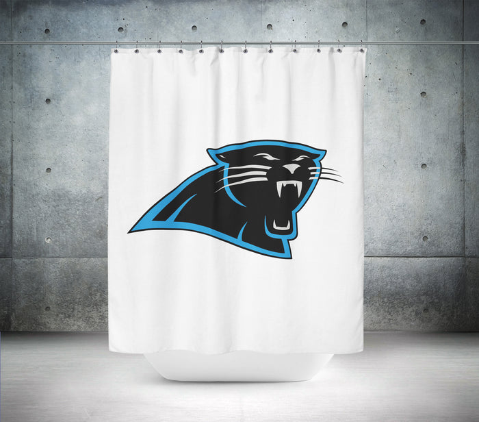 Carolina Panthers NFL Shower Curtain