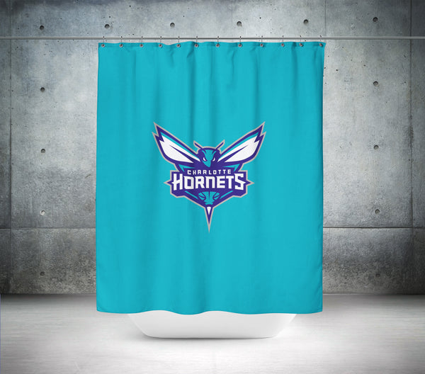 Charlotte Hornets NBA Shower Curtain