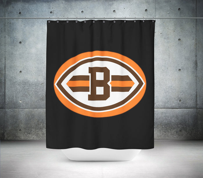 Cleveland Browns NFL Shower Curtain