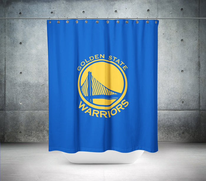 Golden State Warriors NBA Shower Curtain