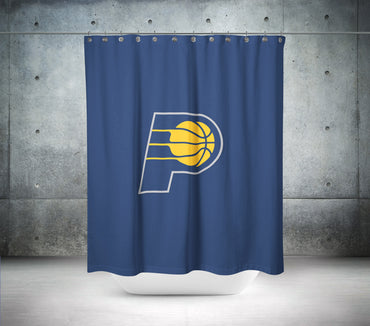 Indiana Pacers NBA Shower Curtain