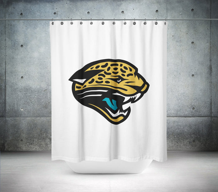 Jacksonville Jaguars NFL Shower Curtain