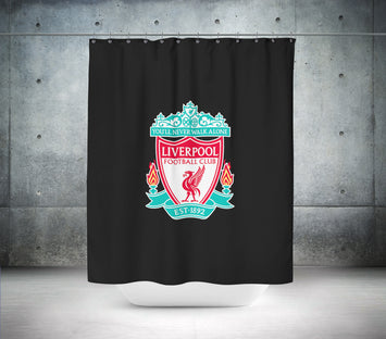 Liverpool Football Club Shower Curtain