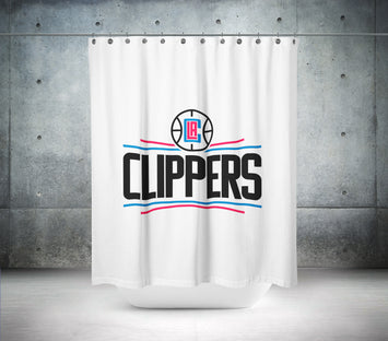 LA Clippers NBA Shower Curtain