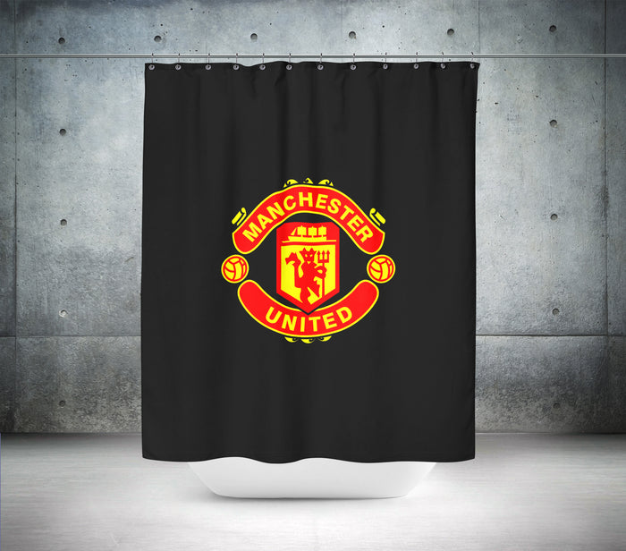 Manchester United Football Club Shower Curtain