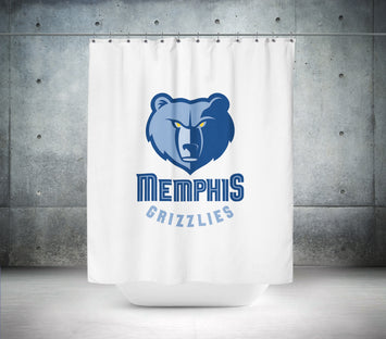 Memphis Grizzlies NBA Shower Curtain