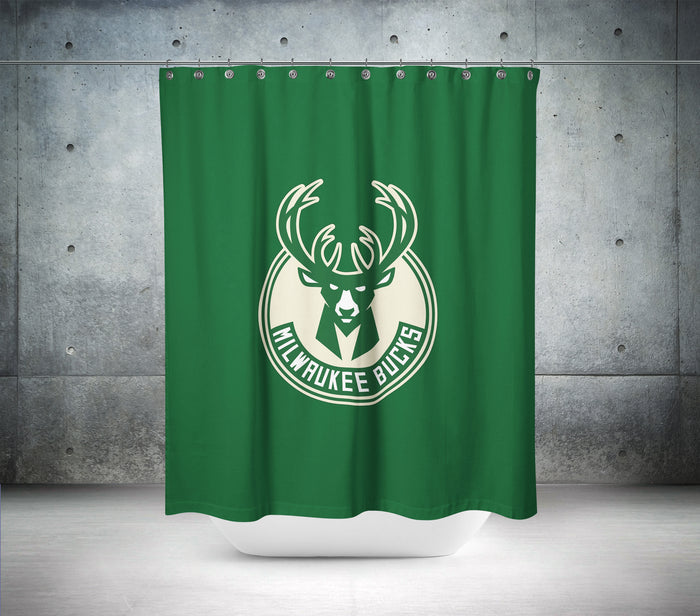 Milwaukee Heat NBA Shower Curtain
