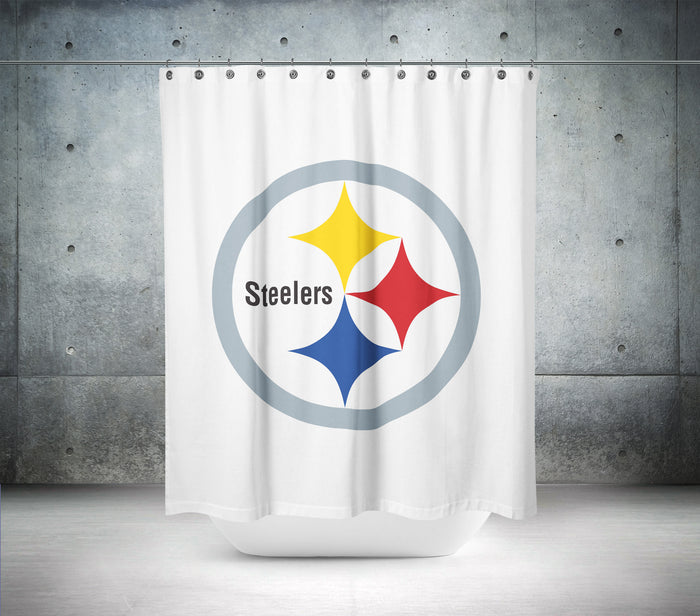 Pittsburgh Steelers NFL Shower Curtain