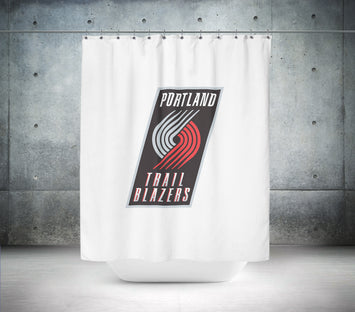 Portland Trailblazers NBA Shower Curtain