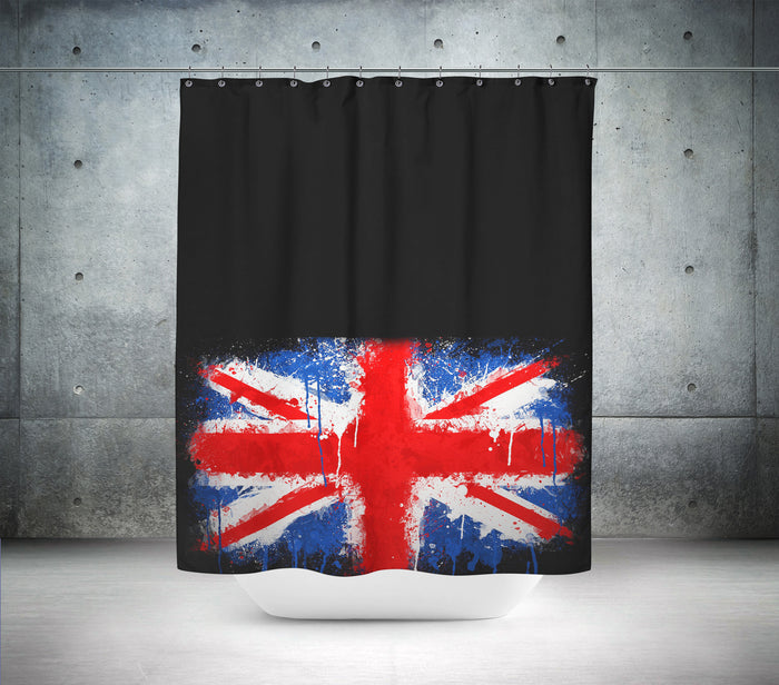 UK Union Jack Shower Curtain