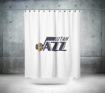 Utah Jazz NBA Shower Curtain