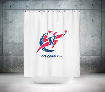 Washington Wizards NBA Shower Curtain