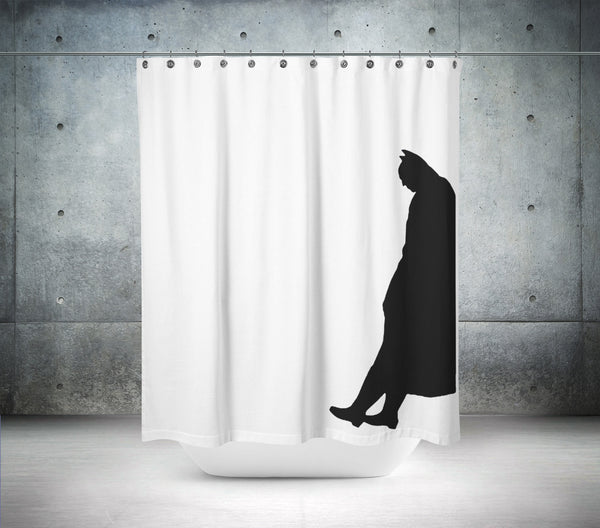Batman Silhouette Shower Curtain