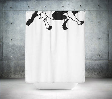 Funky Cow Shower Curtain