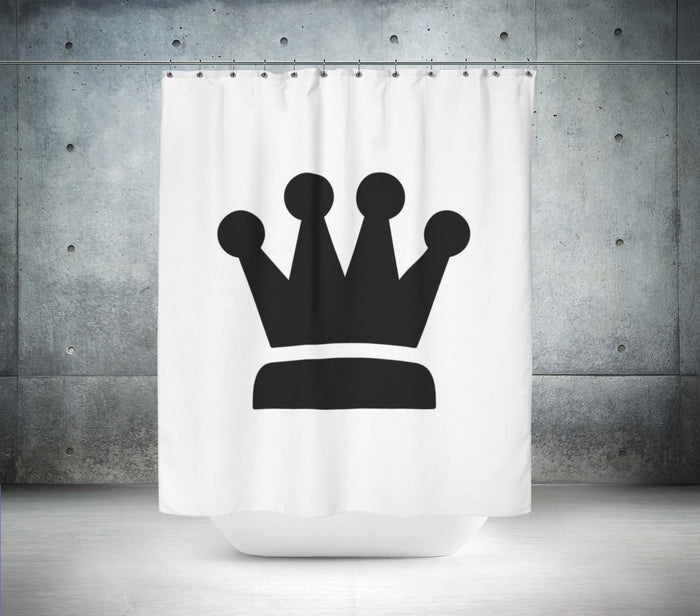Retro Crown Shower Curtain