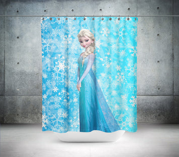 Princess Elsa Shower Curtain
