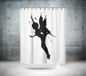 Floating Fairy Shower Curtain