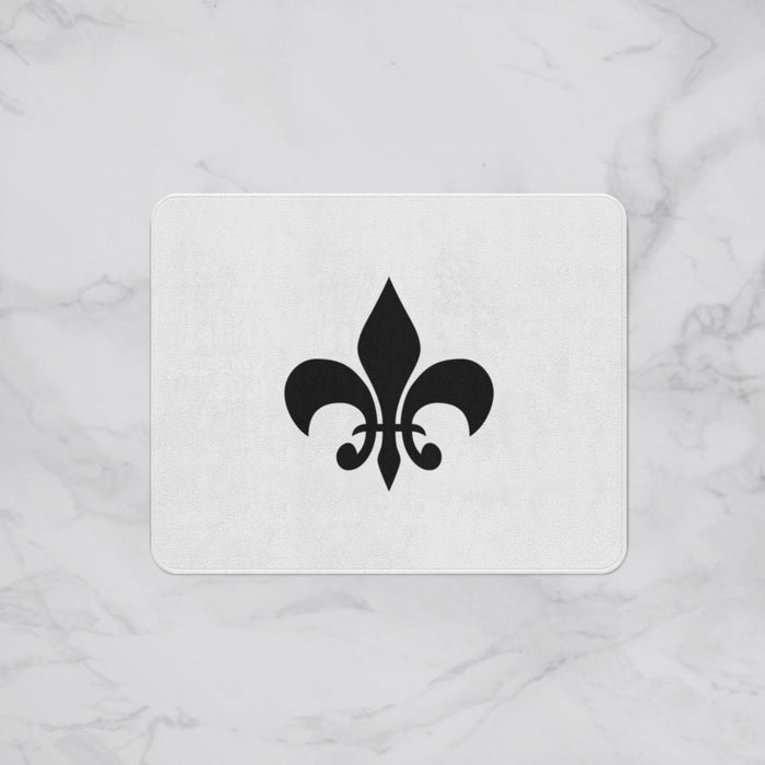 fleur-de-lis  Designer Bath Mat, Custom Sizes and Designs Are Available, Why Not Design Your Own