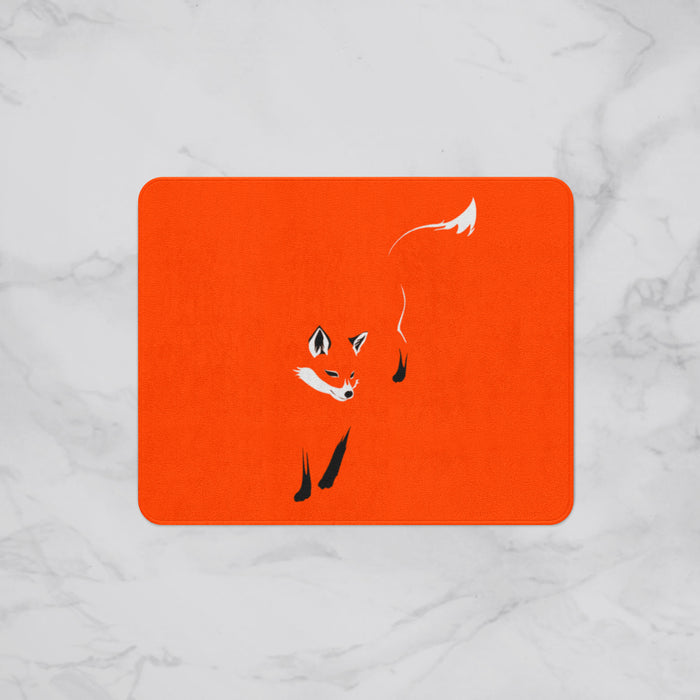 The Slinky Fox Designer Bath Mat, Custom Sizes and Designs Are Available, Why Not Design Your Own