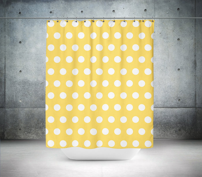Primrose Polka Dot Shower Curtain