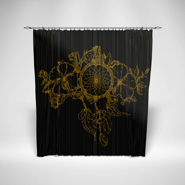 Dream catcher Retro Curtain