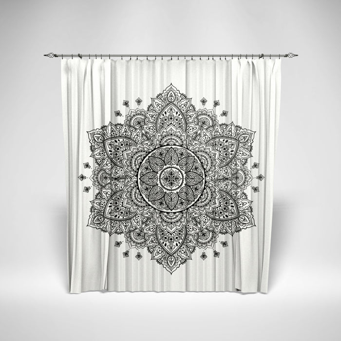 Retro Mendila Curtain