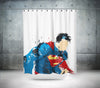 Artistic Superman Shower Curtain