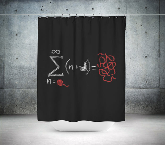 The theory of... Shower Curtain