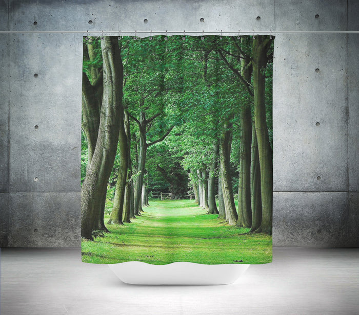 Landscape of Trees Shower Curtain
