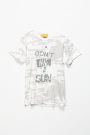 BWood NYC Eye Don't Have a Gun T-Shirt - Rule of Next Apparel