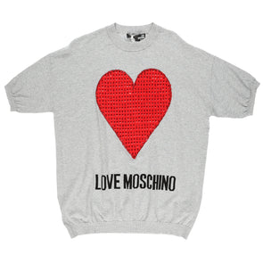 Love Moschino Women's Heart T-Shirt - Rule of Next Apparel