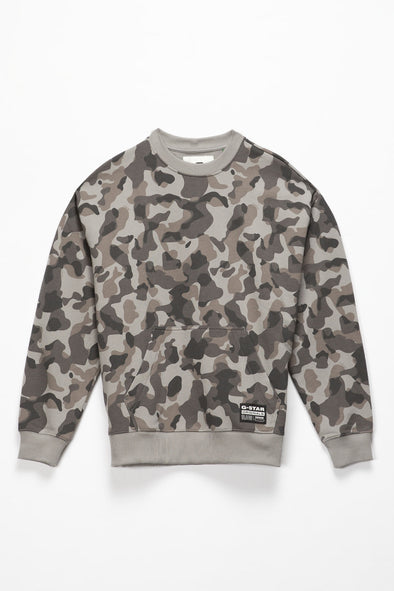 G-Star RAW Brush Camo Crewneck - Rule of Next Apparel