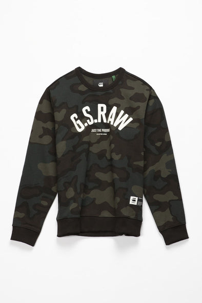 G-Star RAW Graphic 12 Slim Sweater - Rule of Next Archive