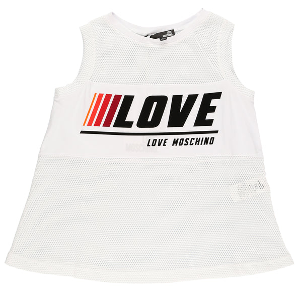Love Moschino Women's Mesh Love Tank Top - Rule of Next Apparel