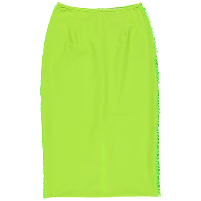 GCDS Women's Lycra Longuette Skirt - Rule of Next Apparel