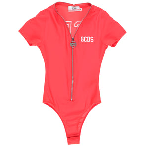 GCDS Women's Half Sleeve Logo Bodysuit - Rule of Next Apparel