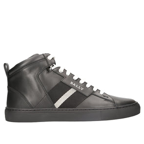 Bally Hedern Leather High Top Sneaker - Rule of Next Footwear