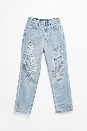 Ksubi Women's Chlo Wasted Bust A Cap Jeans - Rule of Next Apparel