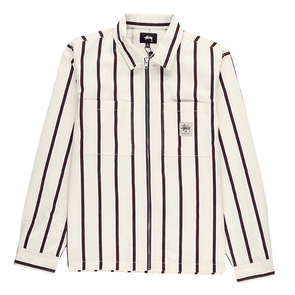 Stüssy Zip Up Work Shirt - Rule of Next Apparel