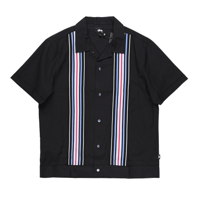 Stüssy Striped Knit Panel Shirt - Rule of Next Apparel