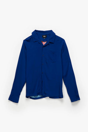 Stüssy Big Poppy Long Sleeve Shirt - Rule of Next Apparel
