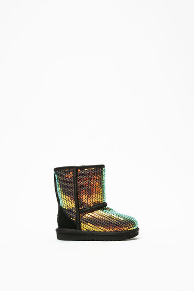 Ugg Kids' Classic II Stellar Sequin (TD) - Rule of Next Footwear